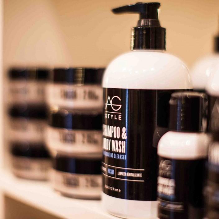 Vincents Den For Mens Haircut Mens Hair Stylist Kingsway Etobicoke AG Hair Shampoo