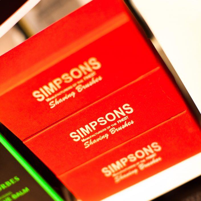 Vincents Den for Mens Haircut Mens Hair Stylist Kingsway Etobicoke Simpsons Shaving Brushes