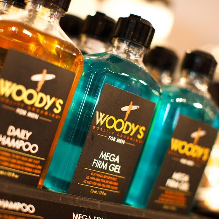 Vincents Den for Mens Haircut Mens Hair Stylist Kingsway Etobicoke Woodys Grooming Bottles